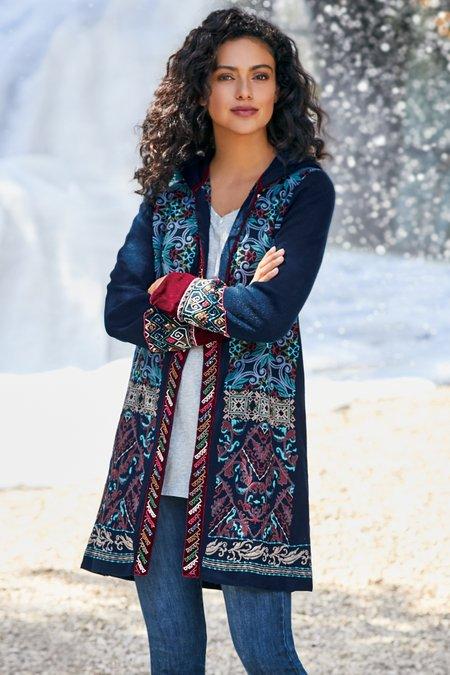 Lysa Sweater Coat