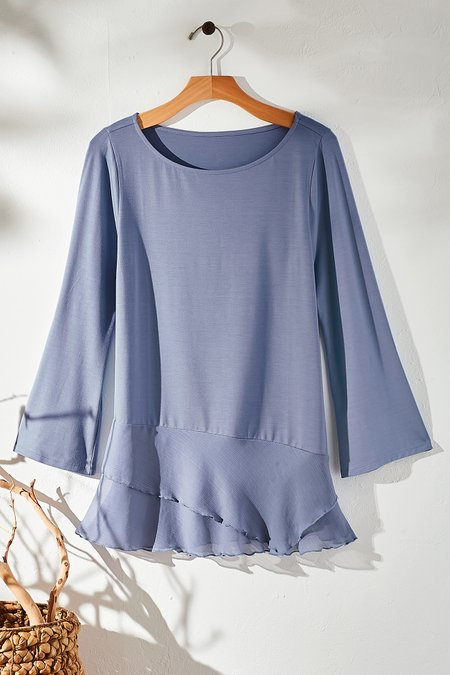 Women Forget-Me-Not Pullover