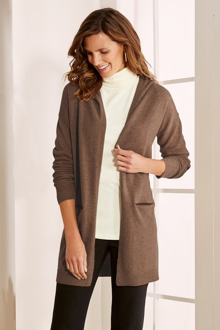 Olympia Cashmere Sweater Topper