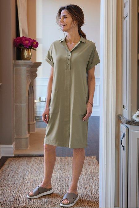 Go Lively Shirtdress