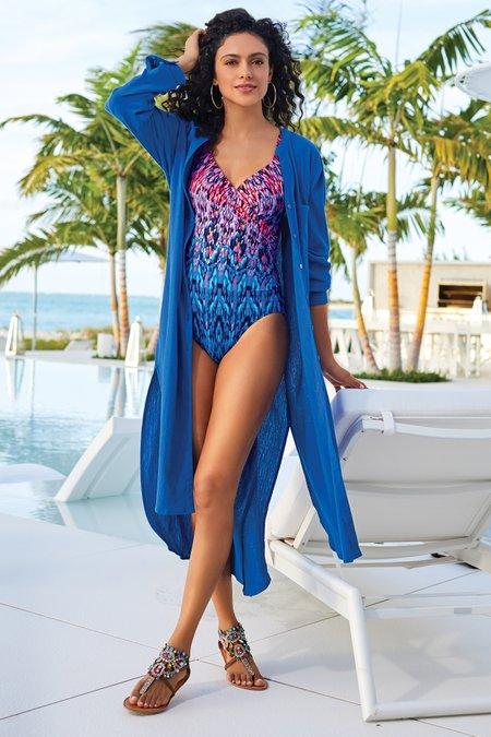 Miraclesuit® Vesuvio It's A Wrap Swimsuit