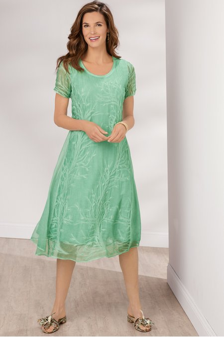 Frangipani Dress
