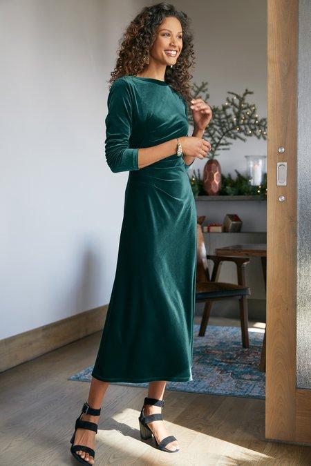Lisabetta Velvet Dress