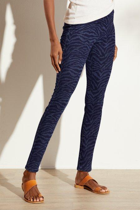 The Ultimate Denim Zebra Pull On Skinny Jeans