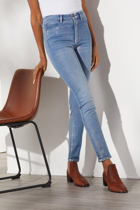 The Ultimate Denim High Rise Shimmer Skinny Jeans