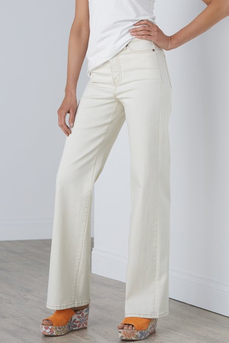 Ultimate Denim High Rise Straight Jeans