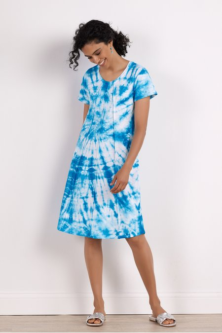 Marchesa Tie Dye Dress