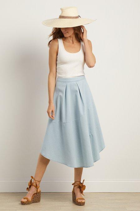 Crescent City Chambray Skirt