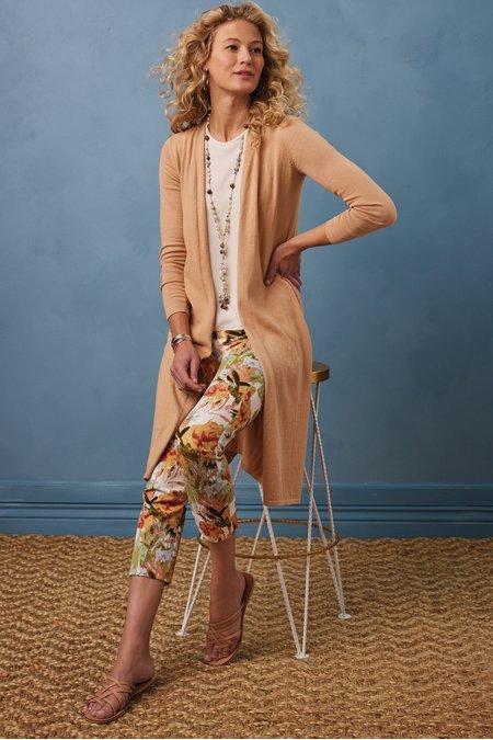 Superla Stretch Pull-On Floris Straight Leg Crop Pants