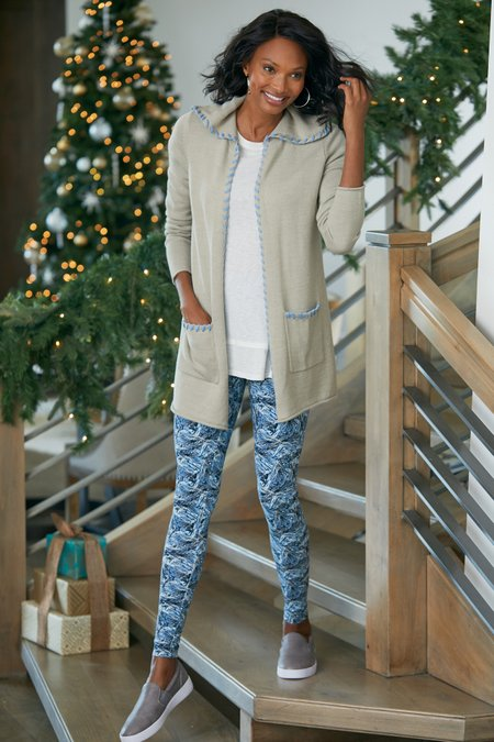 Women Must-Have Chill Out Printed Leggings