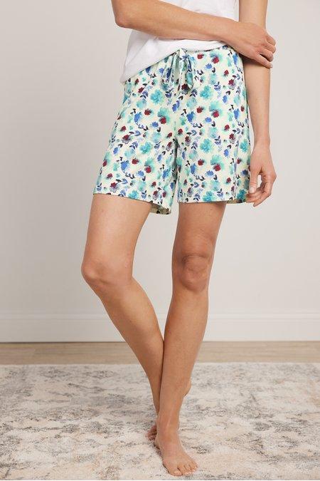 Blissful Bamboo Bouquet Shorts