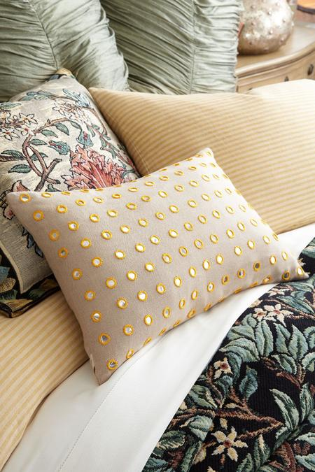 Mirrored Polka Dot Pillow