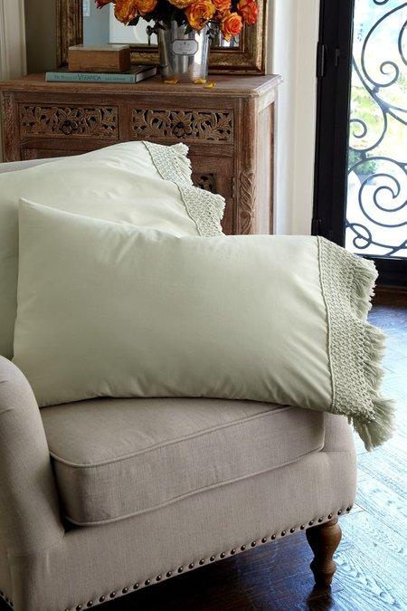 Trousseau Fringed Pillowcase Pair