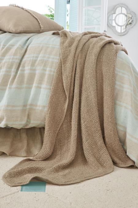 Veranda Linen Throw