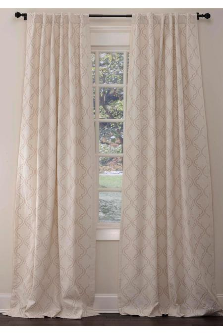 Chartres Custom Length Drapery Panel
