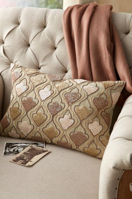 Auvergne Embroidered Pillow