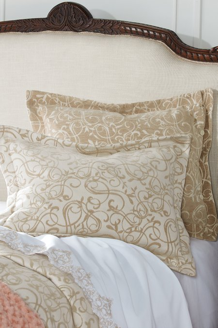 Montaigne Chenille Bed Sham