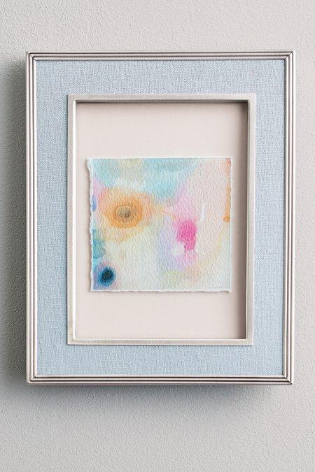 Watercolor Petals Deckled Edge Print