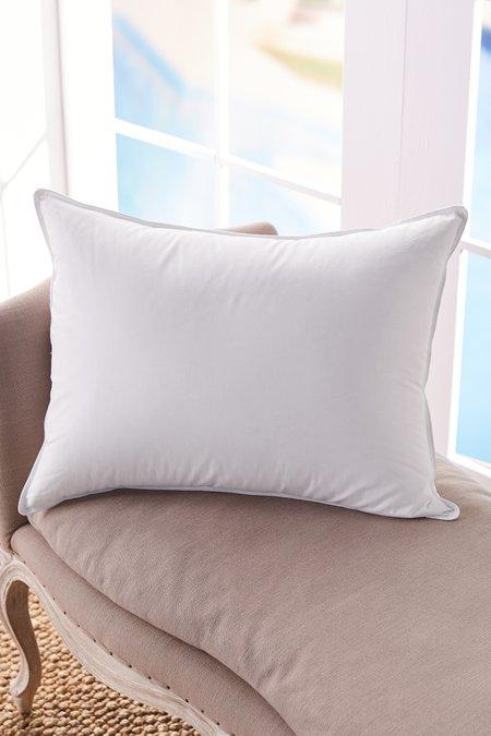 European White Goose Down Pillow