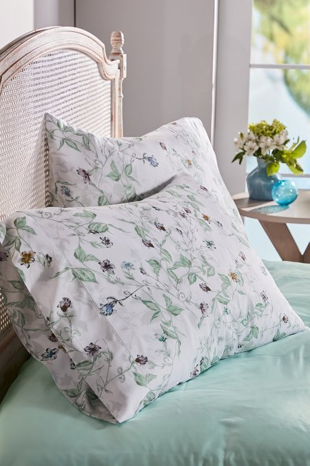 Blissful Bamboo Printed Extra Pillowcase Pair