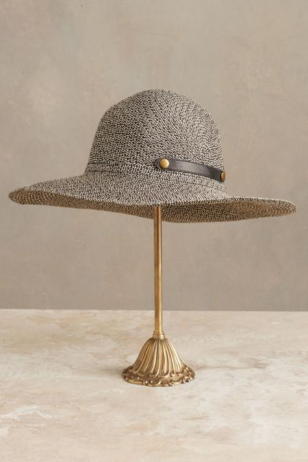 Packable Hat Beach Straw Soft Surroundings Outlet