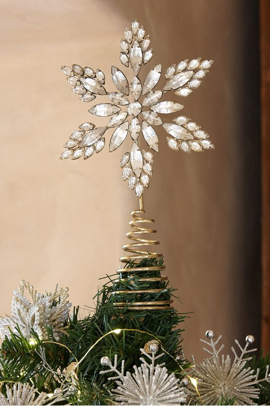 Christmas Tree Topper.Metal Star Tree Topper
