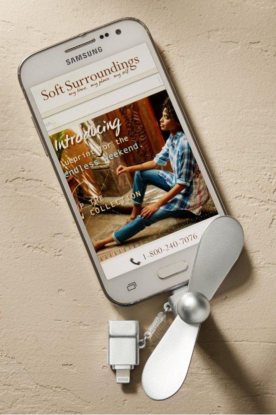 Phone Fan Mobile Phone Fan Soft Surroundings
