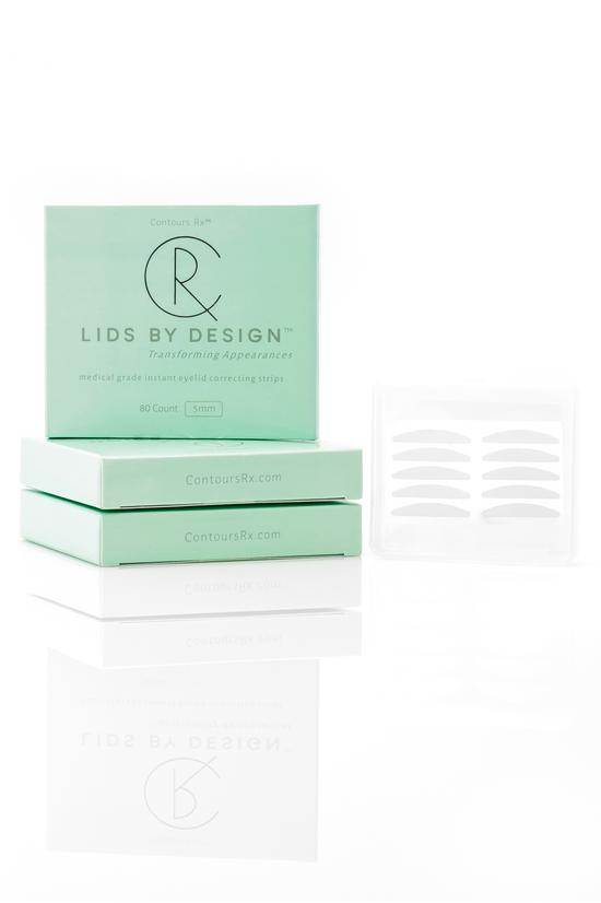 Contours Rx Lids By Design Instant Eyelid Correcting Strips Soft