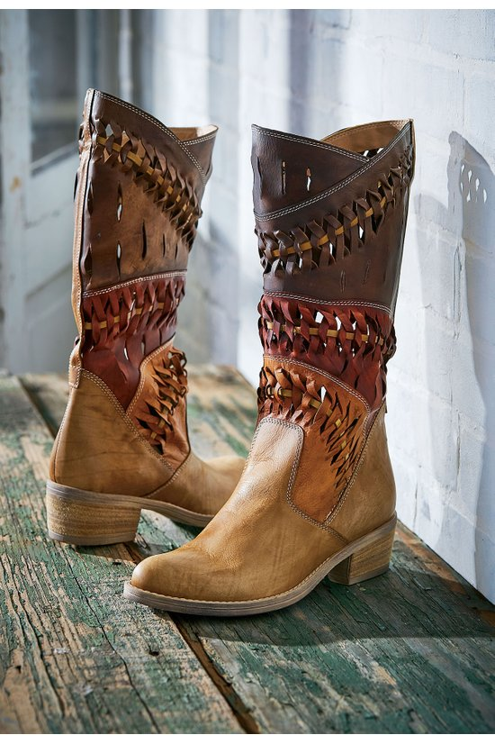Summit Boots - Perforated Boots, Italian Boots | Soft Surroundings