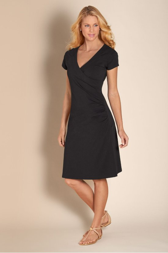 de928ccbafe9 Shapely Anywhere Dress - Surplice Dress, Flattering Dress | Soft ...