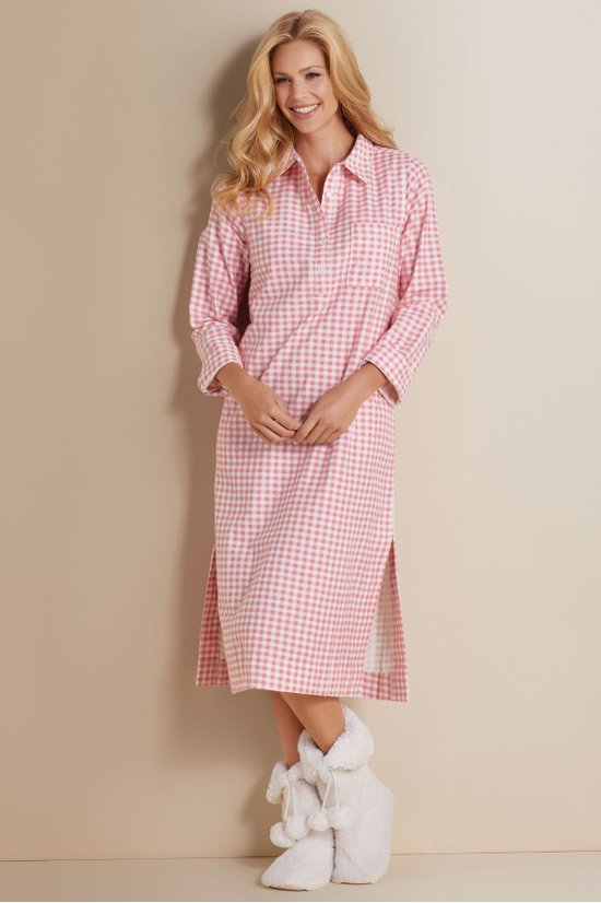 Women Cuddle Time Flannel Gown | Soft Surroundings
