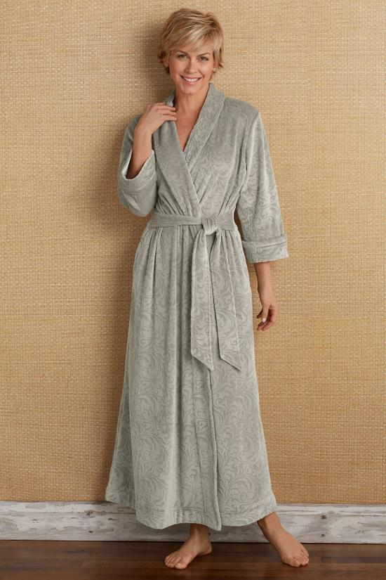 cheap prices buy real superior quality Plus-size Luxe Cozy Robe | Soft Surroundings