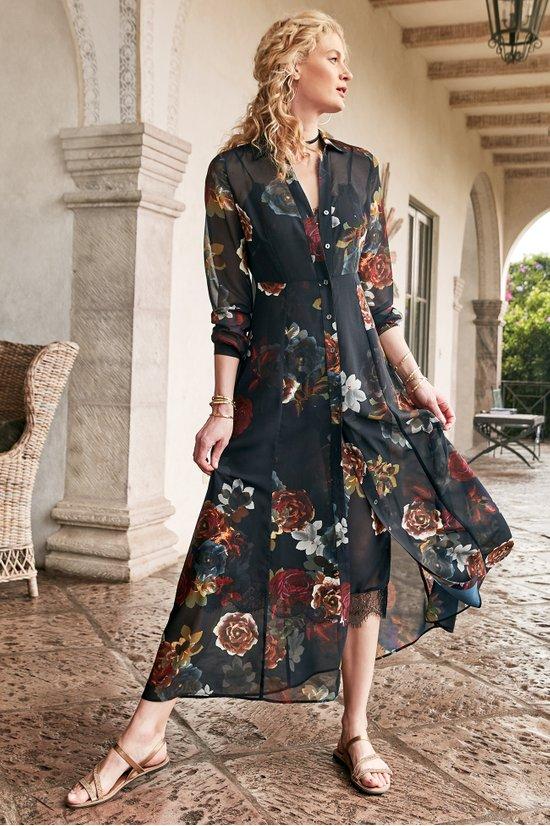 Anais Maxi Dress And Slip Long Womens Dress Soft Surroundings