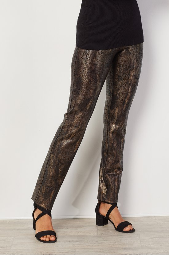 Reptile Pants Snake Print Ponte Pants Soft Surroundings