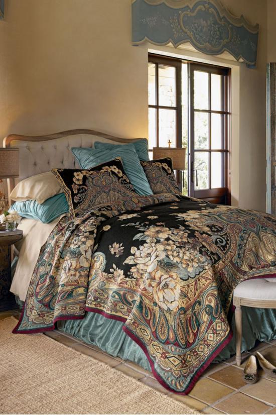 Ariya Tapestry Coverlet, Soft Surroundings Bedding