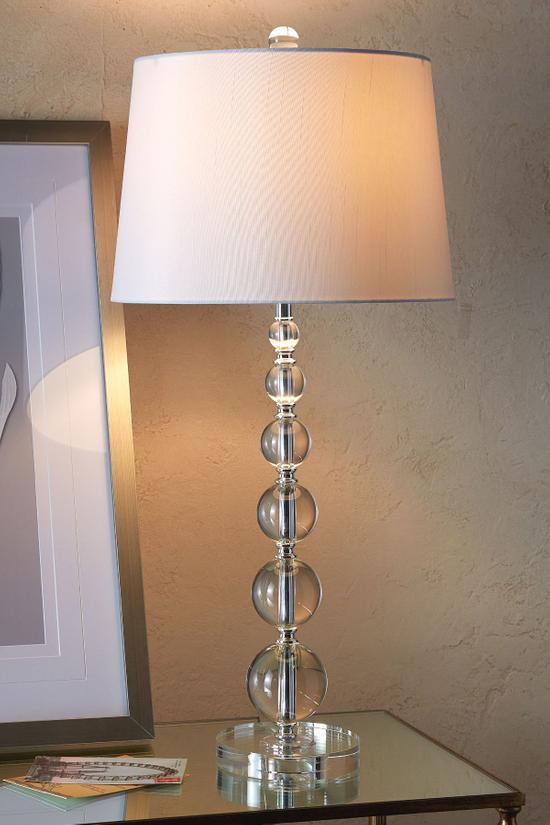 Stacked Crystal Table Lamp Crystal Lamp Crystal Table Lamp Soft
