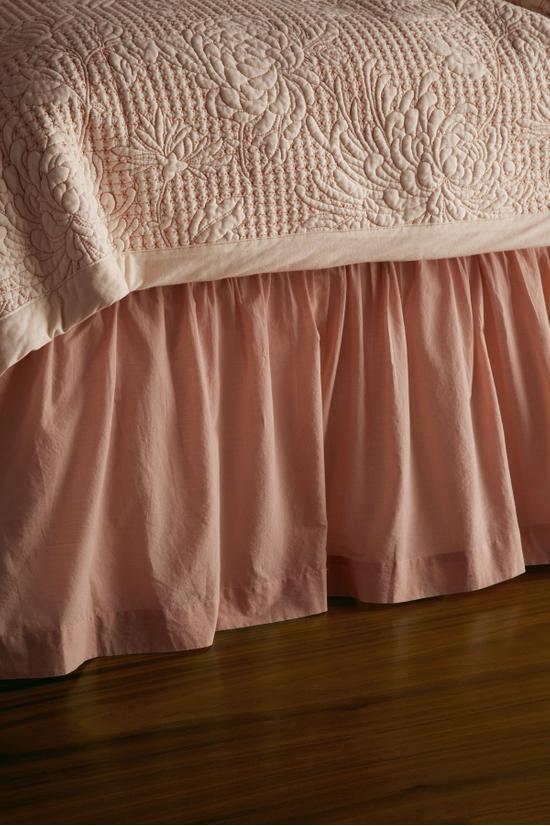 Semplice Ruffled Bedskirt, Soft Surroundings Bedding