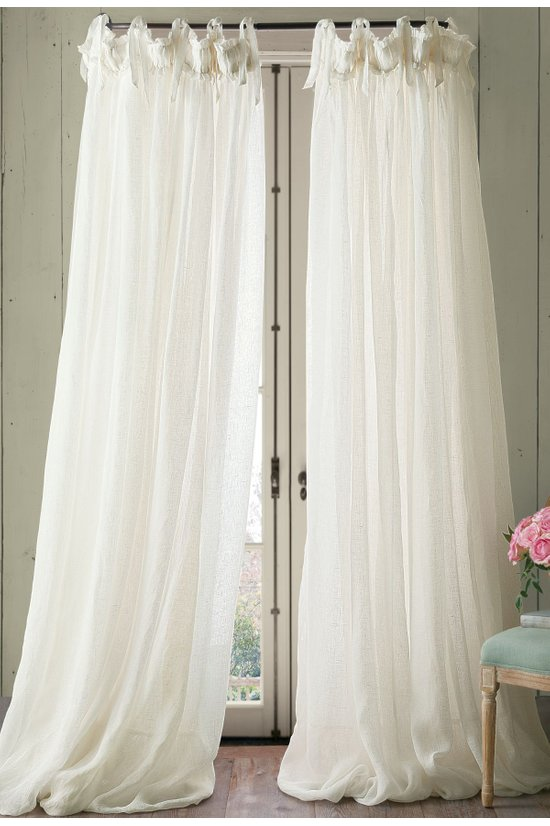 Linen Balloon Drapery Panel by Soft Surroundings