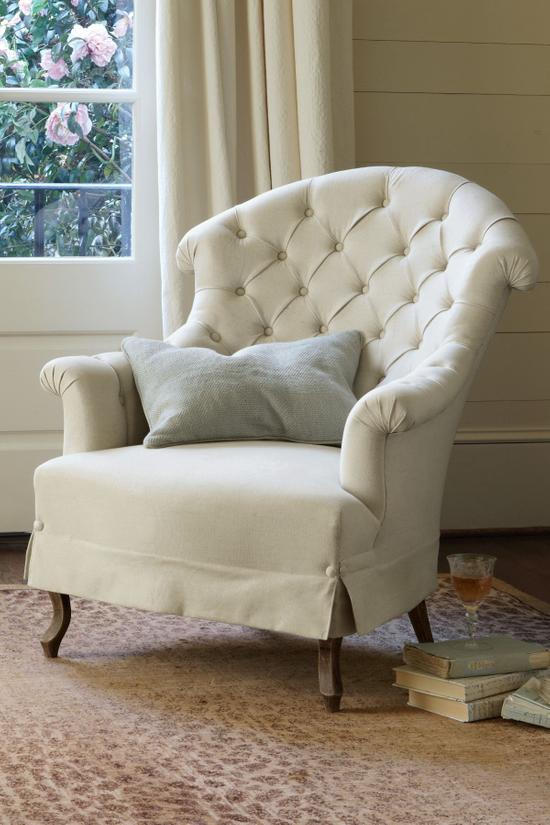 Superieur Avignon Tufted Back Chair   Tufted Back Chair, Tufted Chair | Soft  Surroundings
