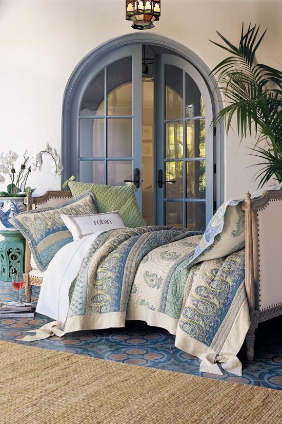 Marrakesh Express Quilt Soft Surroundings, Soft Surroundings Bedding