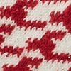 RED HOUNDSTOOTH swatch